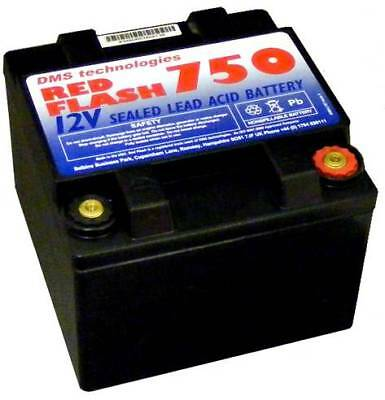 Red Flash 750 Batterie