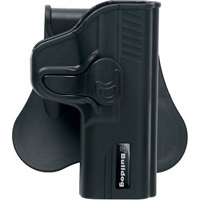 Bulldog Right Handed Black Leather Gun Holster For Sig//Sauer 220,225,226,228,29