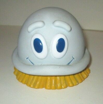 """Vintage 1989 Dow Scrubbing Bubble Advertising Character Vinyl Figure Toy 4""""x3"""""""