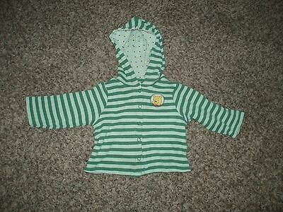 Infant Disney Store 18 Month Striped Jacket With Winnie The Pooh   G.U.C.