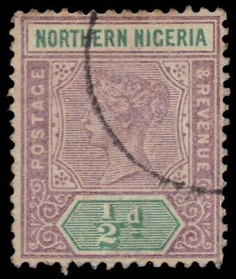 "NORTHERN NIGERIA 1 (SG1) - Queen Victoria ""Keyplate"" (pf92768)"