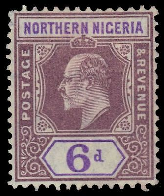 "NORTHERN NIGERIA 24 (SG25) - King Edward VII ""Keyplate"" 1905 Print (pf92757)"