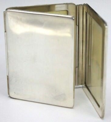 Tiffany & Co Sterling Silver 925 Tri Fold Signed Photo Photograph Picture Frame