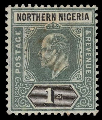 "NORTHERN NIGERIA 25a (SG26a) - King Edward VII ""Keyplate"" 1906 Print (pf92756)"
