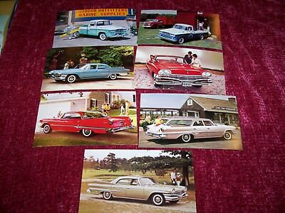 DODGE 1960 N.O.S. Post Cards (7 different)