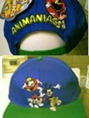 90's Animaniacs Cap Emb  Front  Back Adult Nwt