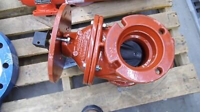 "Mueller 2360 Awwa 250W Fm Cast Iron 4"" Resilient Wedge Fire Main Gate Valve"