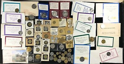 Large lot of Israel Coins Medals Tokens