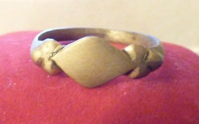 Authentic Medieval ring rare metal detecting find
