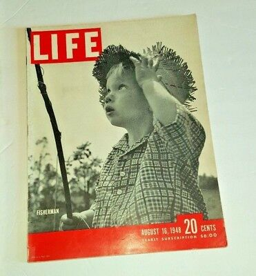 August 16, 1948 LIFE Magazine ad War era WWII Aug. 40s Ads FREE SHIPPING 8