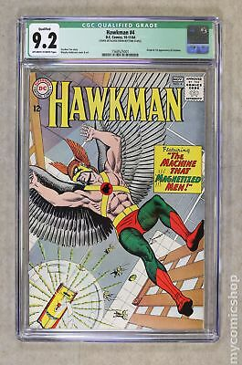 Hawkman (1st Series) #4 1964 CGC 9.2 QUALIFIED 1568525001