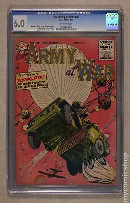 Our Army at War #47 1956 CGC 6.0 1028640005