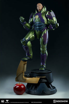 Dc Lex Luthor Power Suit Premium Format Figure Sideshow Collectibles