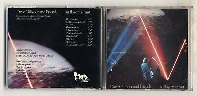 Cd DAVE GILMOUR AND FRIENDS In Floyd we trust Live Allentown 1984 Pink David