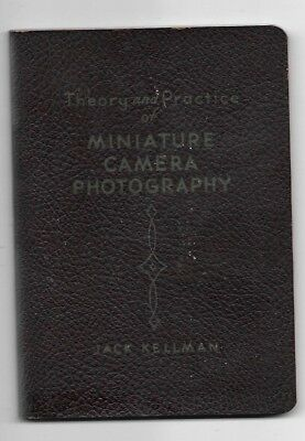 1935 Theory And Practice Of Miniature Camera Photography Book FOMO Publishing