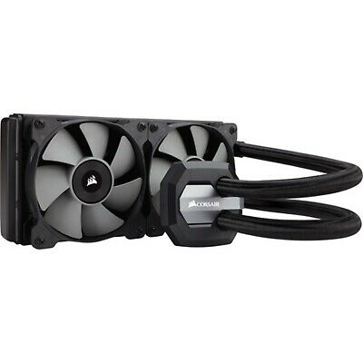 Corsair Hydro Series H100i V2 240MM Quiet CPU Cooler Heatsink Fan Intel AMD