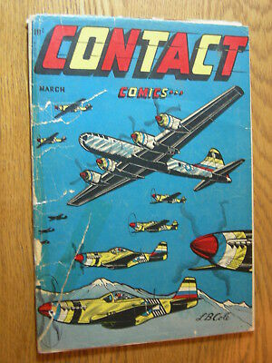 Contact Comics #5 PR LB Cole classic cover