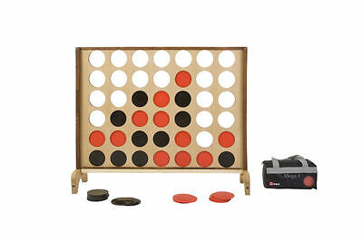 Wooden Mega 4 - Giant Connect 4 Style Family Game