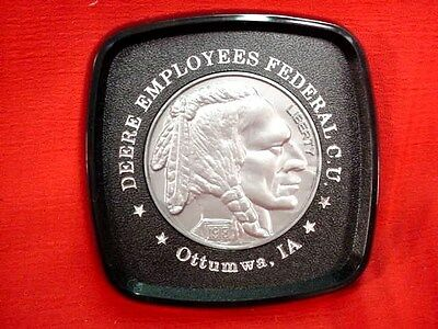 John Deere Employees Federal Credit Union Coaster - Indian Head Nickel - Unused