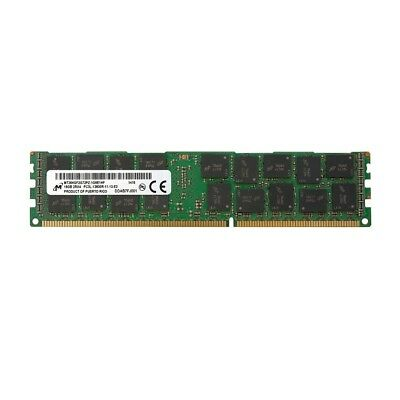 Micron 16GB PC3L-12800R 2Rx4 DDR3L Register ECC Server Memory (1x 16GB)