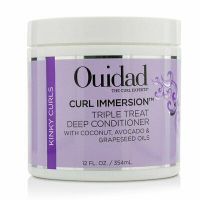 Ouidad Curl Immersion Triple Treat Deep Conditioner (Kinky Curls) 354ml