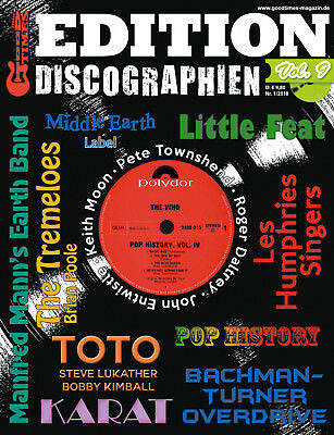 GoodTimes Discographien Vol. 9 - u.a. The Who (Solo) Bachman Turner Overdrive