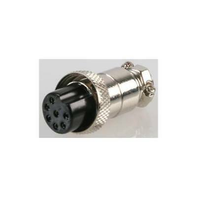 CLIFFCON® FCR2072 Touchproof R//a Cable Plug 8 Pole