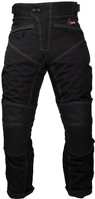 Weise Psycho Waterproof Motorcycle Leather Textile Trousers RRP £169.99!!