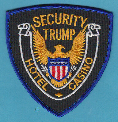 Trump  Hotel / Casino Security Atlantic City , New Jersey Police Patch