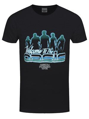 Ready Player One Oasis Men's Black T-shirt