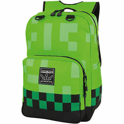 Minecraft Creeper Rucksack Quality Gear Until The End XXL 44cm Backpack