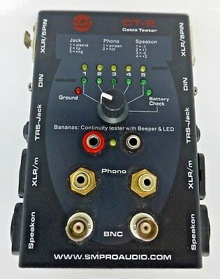 dbx CT-2 Cable tester Parts only