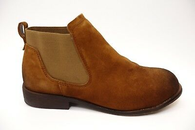 New Rockport Works Womens Brown Junction View Pull On Steel Toe Work Boots  7.5 78ca72e1e