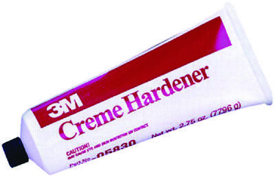 3M Boat Marine Creme Hardener Red 2.75oz Tube Mixes Easily & Quickly