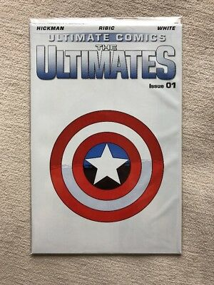 Ultimate Comics The Ultimates 1 Marvel Still in Poly Bag!!