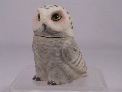 Harmony Kingdom / Ball Pot Bellys / Belly 'Snowy' White Owl #PBZOW3 New In Box