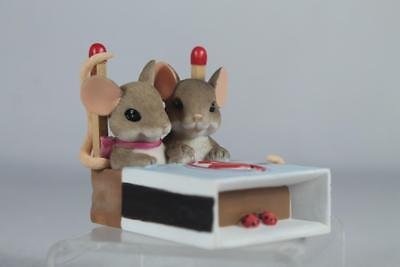 Charming Tails 'We're A Hot Match' Couple In Match Box #4043850 New in Box