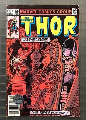 Stan Lee Signed THE MIGHTY THOR #326 Marvel Comics 1982 Comic Book w/ Hologram