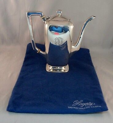 Sterling Silver Teapot with Engraving