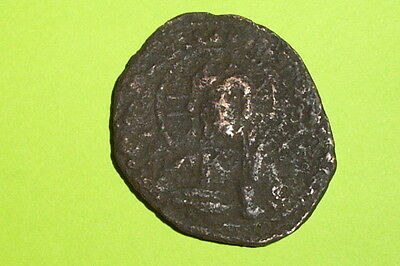 HUGE Ancient BYZANTINE COIN of ROMANUS IV orans JESUS CHRIST old christian bible
