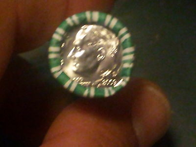 2009 - D Dime Roll-- Heads/tail --N.f. Sting And Son -Low Production In 52 Years