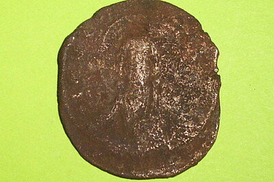 HUGE Ancient BYZANTINE COIN of ROMANUS III good JESUS CHRIST old christian bible
