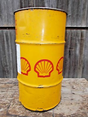 SHELL Synthetic Lubricant Steel Barrel