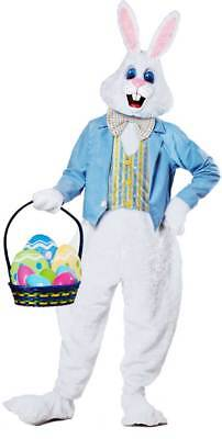 Egg Hunt Deluxe Bunny Body Suit Outfit Sunday Holiday Easter Costume Adult Men