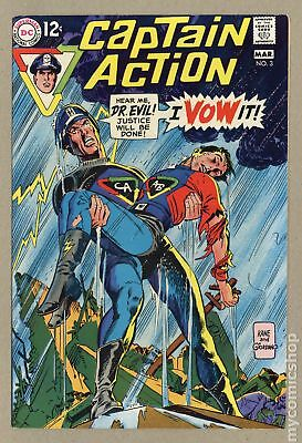 Captain Action (DC National) #3 1969 VF/NM 9.0