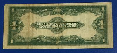 """1923 $1 Blue """"LARGE SIZE"""" SILVER Certificate """"HORSEBLANKET"""" VG X413 Currency"""