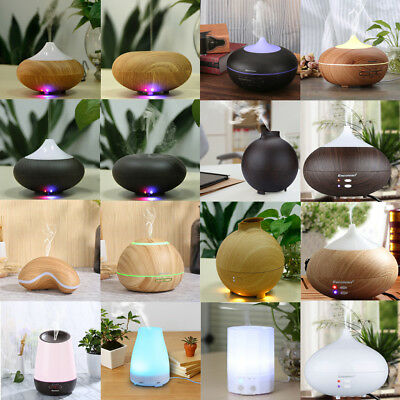 AU Essential Oil Fragrance Aromatherapy Diffuser Ultrasonic Cool Mist Humidifier