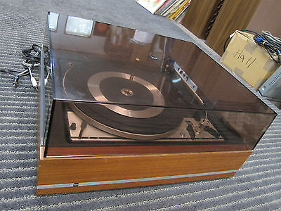 Dual 1214 Automatic turntable, Single/Stacking Spindles, No Headshell, REPAIR
