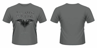 New Official GAME OF THRONES - ALL MEN MUST DIE T-Shirt