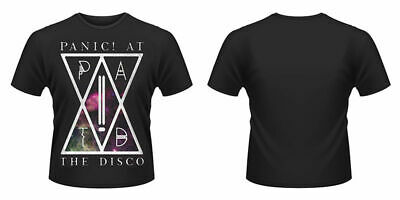 New Official PANIC! AT THE DISCO - PATD (BLACK) T-Shirt